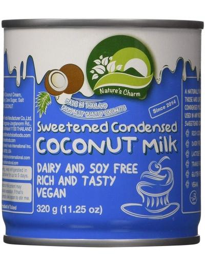 Kondezované kokosové mlieko - sladené