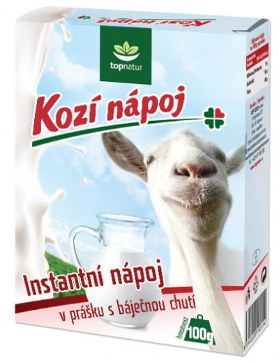 Kozí mliečny nápoj 100 g