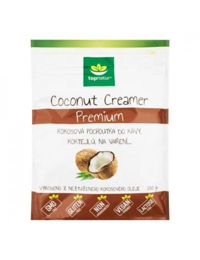 Pochúťka Coconut Creamer Premium 150 g TOPNATUR