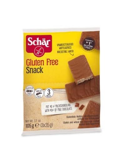 Napolitánky Snack oriešok čokoláda 3x35g SCHAR
