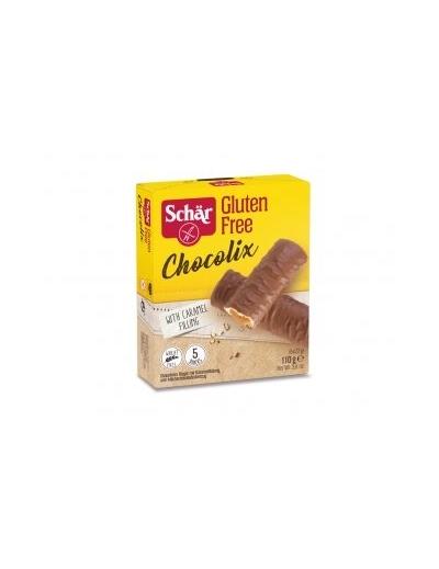 Oblátky Chocolix v mliečnej čokoláde (5x22g) 110g
