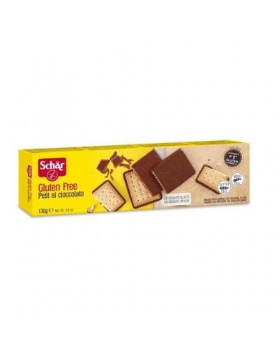Sušienky Petit al cioccolato polomáčané 130g